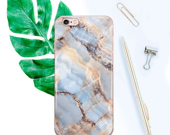 Rose Marble Phone Case Stone Rose Gold Rock iPhone 6 case 6s 6sPlus iPhone 6 plus case iPhone 7 case iPhone 7 plus case Marble case CF1001