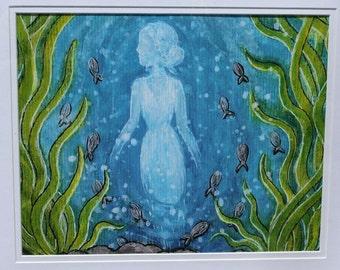 Under the Sea - Framed Print