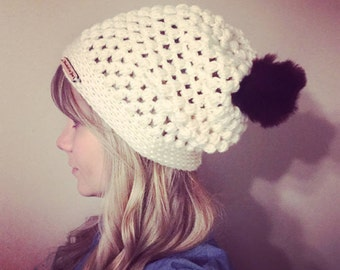 Pattern - Olivia slouch hat