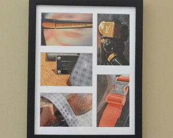 Louis Vuitton Inspired Photography, Original Framed Wall Art, Luxury Home Decor, Birthday, Housewarming, Holiday Gift, Gift for Her