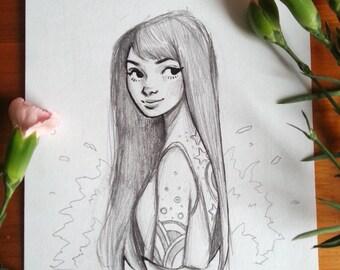 Sketch V - Original Art