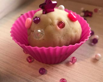 Play dough cupcake valentine 10-pack