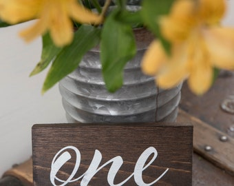 Wedding Sign Table Numbers Reception Table Sign Wedding Sign Reception Table Reception Table Numbers Wooden Wedding Sign