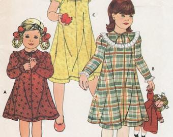 Betsey Johnson Little Girls Dress Pattern, Childs Size 4 Uncut Sewing Pattern