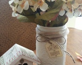Country Chic Decor - Mason Jar