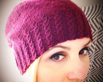 Rosée Hat Knitting Pattern