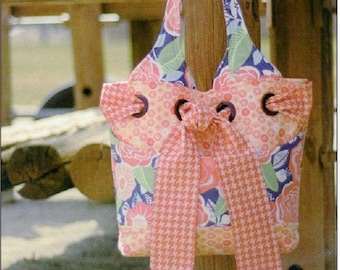 "Pattern ""The Little My Favorite Bag"" by Kati Cupcake Pattern Co. Small Tote Bag"