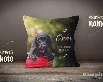 Pet Memorial, Custom Pet Pillow, Custom Dog Pillow, Pet Loss Gift, Pet Pillow, Photo Pillow, Custom Pet Memorial, Pet Keepsake, Dog Memorial