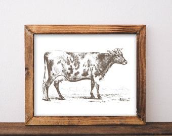 Cow Decor, printable, farmhouse sign, cow, farmhouse decor, cow gifts, cow print, cow printable, cow wall art, cow wall decor, kitchen decor