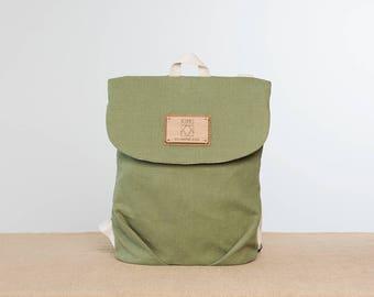 Vegan backpack, vegan rucksack, rucksack Stoff, backpack fabric, woman backpack, handmade backpack, vegan backpack, backpack woman fabric