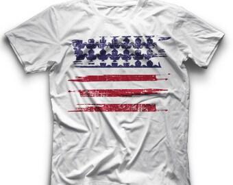 4th July Tee Shirt 4th July Outfit Fourth July Tee Fourth July Shirt 4th of July Shirt American Flag Shirt Women Patriotic Shirt Women