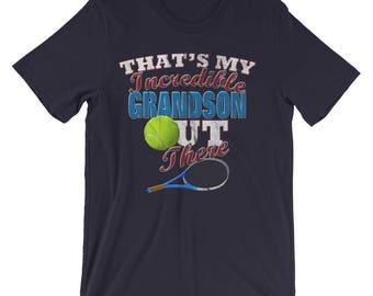 Tennis Grandma Shirt-Tennis Grandpa Shirt-Tennis T Shirt-Grandma Gifts-Grandpa Gift-Grandparent Gifts-Tennis Shirts-Tennis Gifts-Tennis Tee