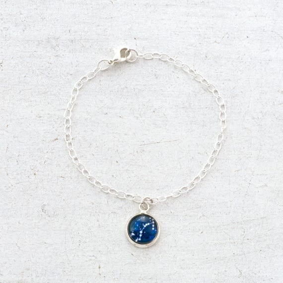 Personalised Zodiac Charm Bracelet