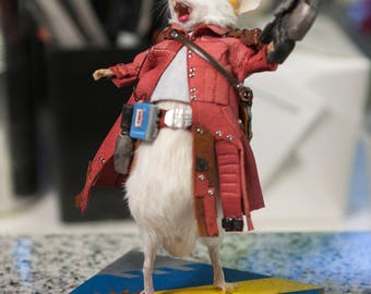 Taxidermy Mouse Starlord Guardians of the Galaxy