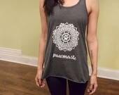 """Yoga Shirt """"Pawmaste..."""