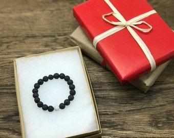 Diffuser Bracelet, Lava Bead Bracelet, Beaded Bracelet, Lava Diffuser Bracelet,  Howlite Bracelet, Howlite Bead Bracelet, Howlite Lava Beads