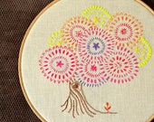Embroidery pattern beginner, tree of life, Hand embroidery, DIY fall décor, hand embroidery patterns by NaiveNeedle