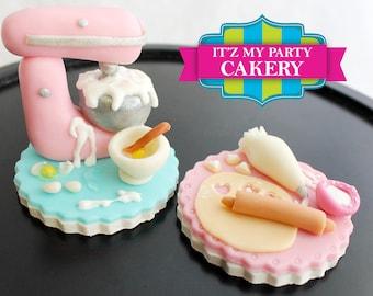 3-D Themed Cupcake Toppers (1 Dozen)
