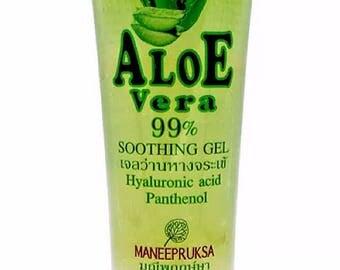 Aloe vera gel 100% soothing 120 ml herbal extracted