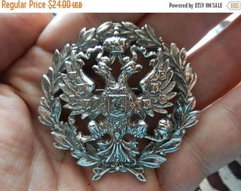 Summer Sale Vintage Imperial Russian Eagle Badge Accessocraft