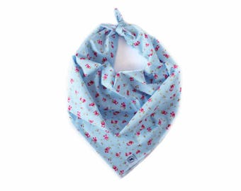 Blue Delight Dog Bandana