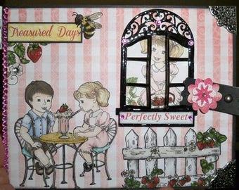 Heartfelt Creations Berry Cafe Mini Album, paper craft, photo album, mini album, heartfelt creations