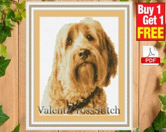 DOG Cross Stitch Pattern, dogs pattern, Cross Stitch Pattern, PDF Cross Stitch Pattern-Buy 1 get 1 free,  #sp 22