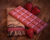 Dairy Free Vegan Alternative to White Chocolate - Strawberry