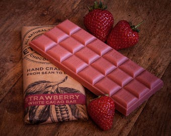Vegan Alternative to White Chocolate - Strawberry