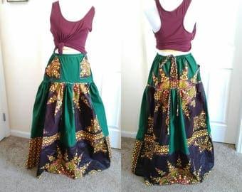 Wild Woman High-Waisted Maxi Skirt