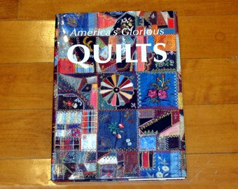 Beautiful quilt book-large quilt book-quilting book-antique quilts book-america's glorious quilts book-big quilt book-vintage quilt book