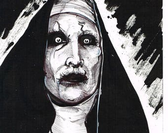 Valak Nun The Conjuring sketch
