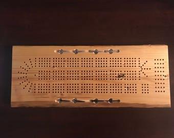 Cribbage Board - Barnboard
