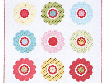 May Flowers applique quilt