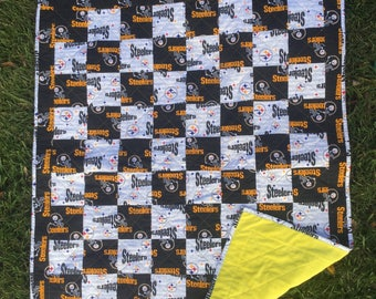 Pittsburg Steelers Baby Quilt