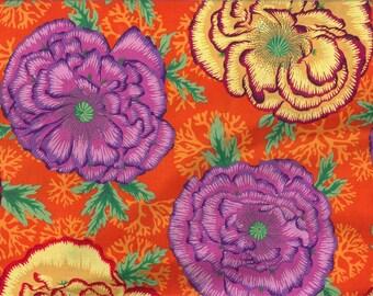 KAFFE FASSETT Henley orange fabric