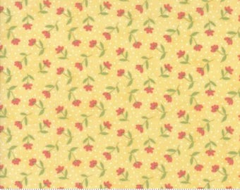 1 Yard Farmers Daughter by By Vanessa Goertzen of Lella Boutique for Moda- 5051-14 Bloom Toss Sunshine