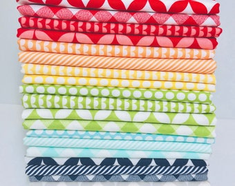 1/2 Yard Bundle Bonnie and Camille Basics by Moda - 20 Fabrics
