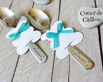 Customize the name of baby spoon