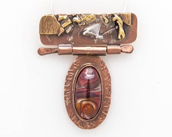 Copper & Glassite Necklace!