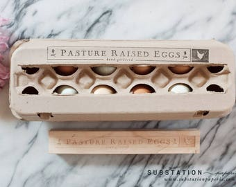 Original mini egg stamp chicken stamp for eggs egg stamp egg carton rubber stamp chicken stamp egg carton labels farm stamp fresh pronofoot35fo Image collections