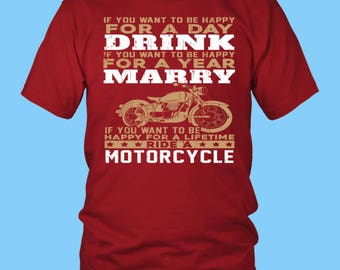 Best Biker Tees, Black Tee Shirt, Biker Tee Shirt, Motorcycle T-Shirt, Gifts for Bikers, Love Bikers, Awesome Bikers, Chopper Fanatic