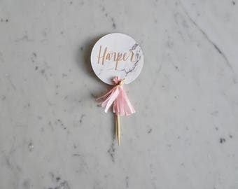 Mini Cake Toppers /