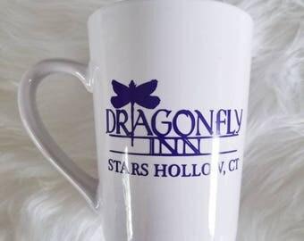 Gilmore girls mug* Gilmore girls coffee* coffee mug* Dragonly Inn* Rory gilmore* stars hollow* connecticut* Lorelei Gilmore * Gilmore girls