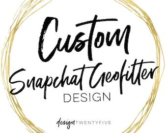 Custom Snapchat Geofilter | Custom Geofilter | Bachelorette Geofilter | Birthday Geofilter | On Demand Geofilter | Bachelorette Party