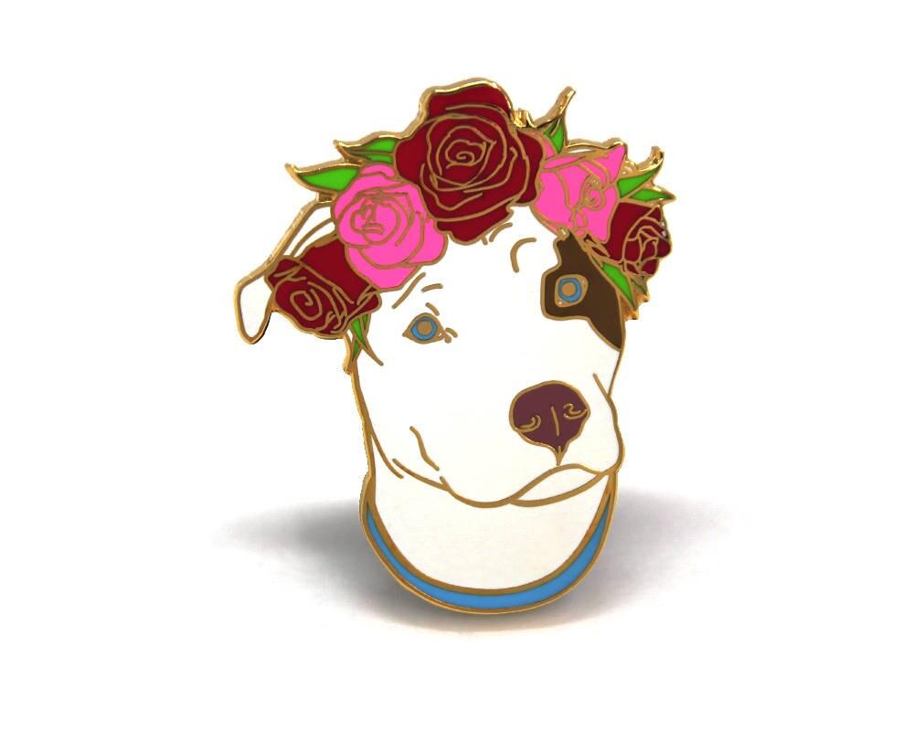 Dog Enamel Pin Enamel Pins Hard Enamel Pin Dog Lapel Pin