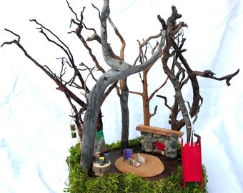 Fairy House, Gnome House, Dollhouse, Waldorf, Root Children, Natural Toys