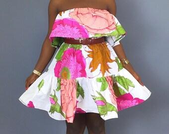 African handmade women's clothing ,African print,African was,robe wax,Ankara ,off shoulder dress,mini dress ,dashiki,java print