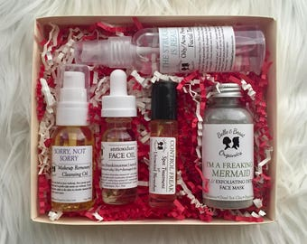 CLEAR Skin Gift Set   Acne Prone Skin   Valentine Gifting   Gifts for Her   Gifts for Him   Vegan   Organic Skincare   Giftset
