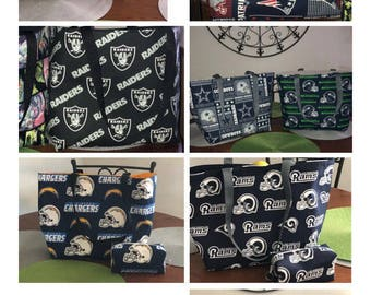 NFL Tote Bags